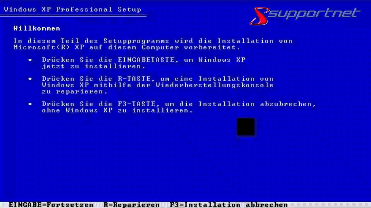 how to make a windows xp recovery disk
