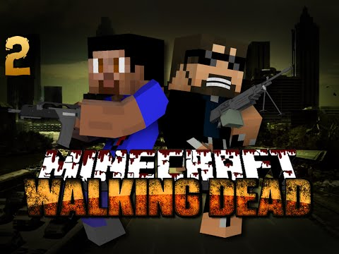 Minecraft Walking Dead Mod 2 - DEADLY COMPETITION(Walking Dead Series)