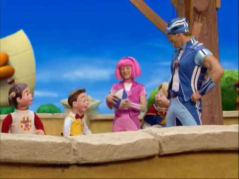 LazyTown - LazyTown s New Superhero (Part 5)