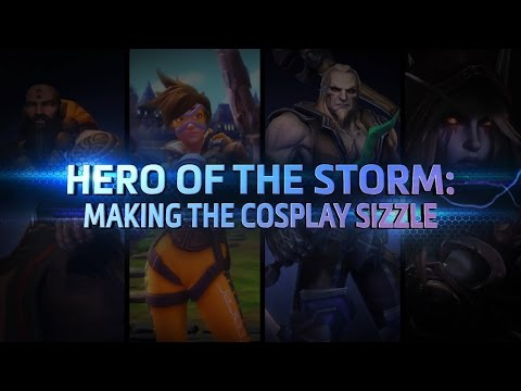 Hero of the Storm: Making the Cosplay