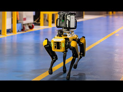 How this robot dog is helping Ford build its next car 🚗