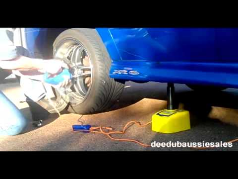 DaS - Electric 12V hydraulic Car Jack. Impact Wrench