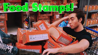 10 Cities with the most FOOD STAMP recipients.
