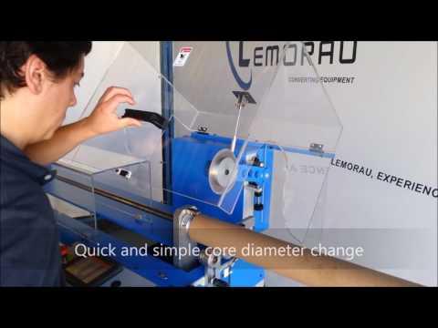 Lemorau CTA 1500 Automatic core cutter machine