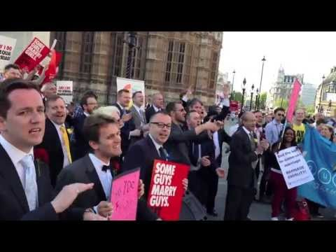 The London Gay Men's Chorus For Gay Marriage Gsn video