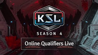 Online Qualifiers - 3 of 3 - KSL Season 4 - StarCraft: Remastered