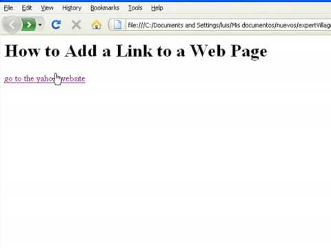 sigplus how to make an hyperlink to another site