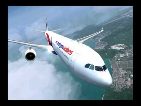 MFSG Airbus A330-300 Malaysia Airlines