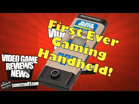 Milton Bradly Microvision Handheld Review - Gamester81