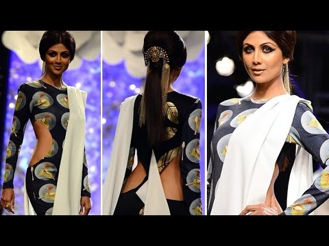 LFW: Hot Or Not Shilpa Shetty On Ramp For Masaba Gupta