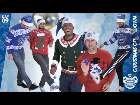 THE QPR BAUBLE CHALLENGE | BARTON, AUSTIN, FER, KRANJCAR AND EHMER