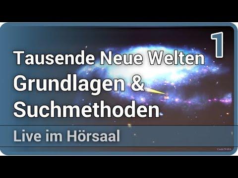 Neue Welten - Exoplaneten: Grundlagen & Suchmethoden (1/3) • Live im Hörsaal   Lisa Kaltenegger