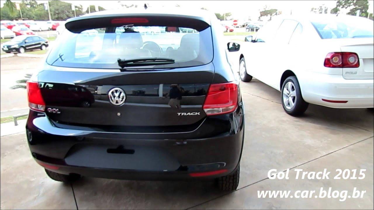 Gol Track 1.0 Volkswagen Gol Track 1.0 2015
