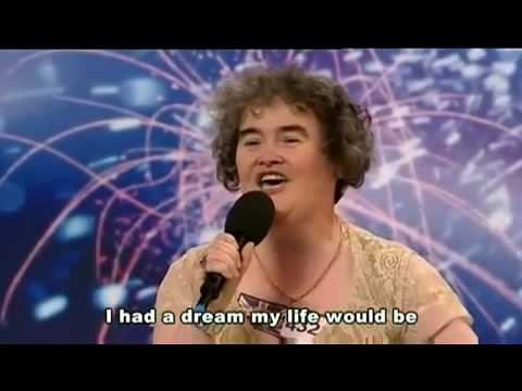 []Susan BoyleI Dreamed a Dream