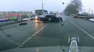 Аварии на дорогах, приколы на дороге 2018 7612