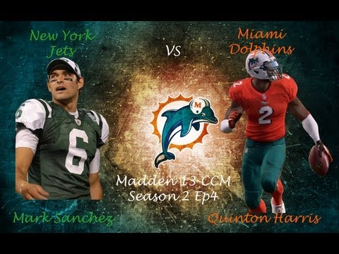 Madden 13 CCM (S2E4) | Quinton Harris | Mark Sanchez is Weak!!