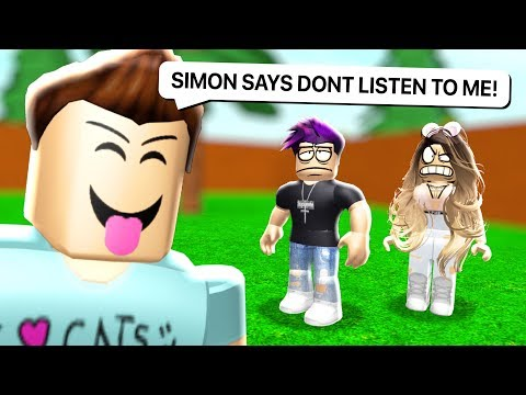 IMPOSSIBLE SIMON SAYS IN ROBLOX