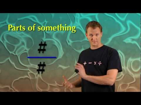 Math Antics - Fractions Are Parts video