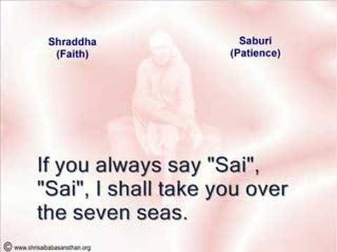 Shirdi Sai Baba's Sayings &  Baba's 11 Assurances With Sai Baba Aarti video