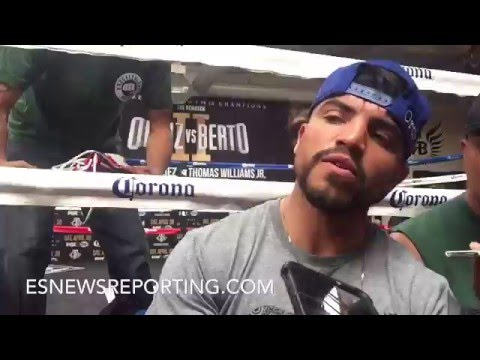 "VICTOR ORTIZ BLASTS BRANDON RIOS FOR SAYING HE WANTS ANDRE BERTO TO ""BREAK HIS JAW AGAIN"" - EsNews"