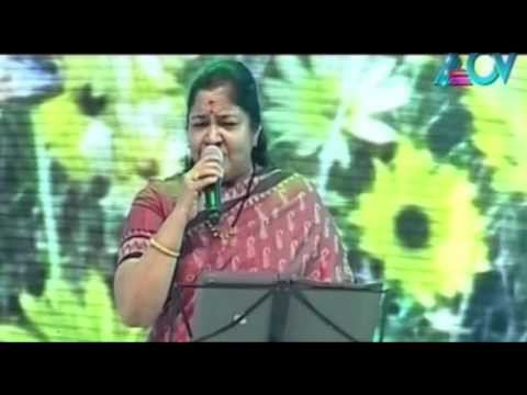 Best Of Events- Chithra Sings 'naanoru Sindhu' video