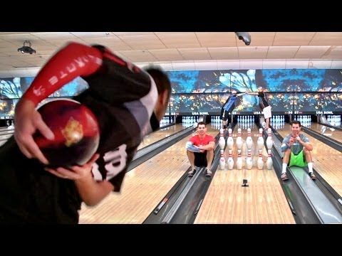 Bowling Trick Shots   Dude Perfect