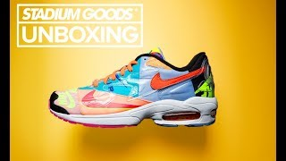 atmos x Nike Air Max 2 Light | Stadium Goods Unboxing