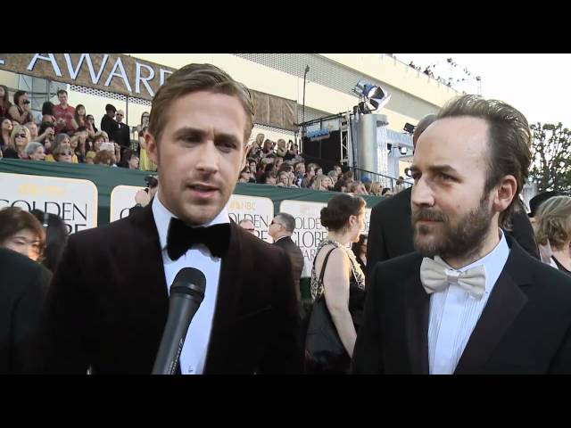 Golden Globes Red Carpet Interview: Ryan Gosling & Derek Cianfrance