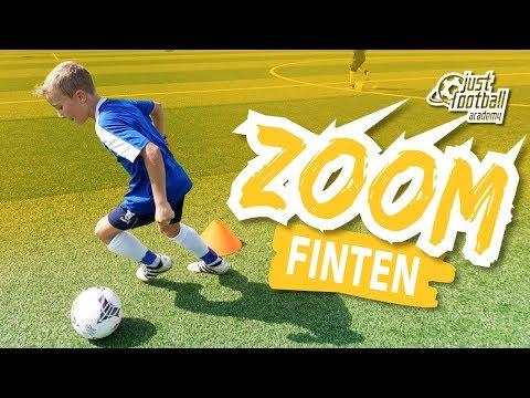 Fussballtraining: Zoom - Finten - Technik