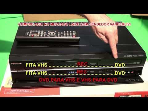 GRAVADOR DE DVD TOSHIBA