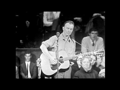 Pete Seeger  - A hard rain's a-gonna fall HD (alta calidad)