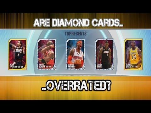 NBA 2K14 My Team - Diamond Michael Jordan & Carmelo Anthony Review/Gameplay!
