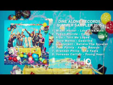 Dine Alone (mini) Summer Sampler 2015 Interactive Video