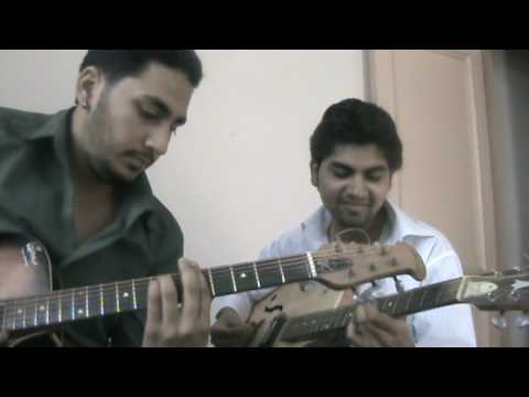 Mere Sapno Ki Rani On Guitar. video