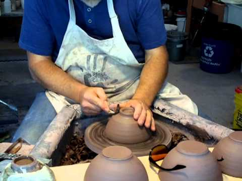 SIMON LEACH POTTERY - Justin ! ... from Wisconsin ! - May 20 '13