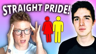 Triggered by Straight Pride Parade!