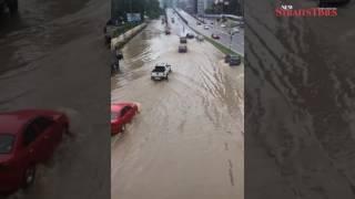 Afternoon torrential rain triggers flash floods, landslides, across Klang Valley