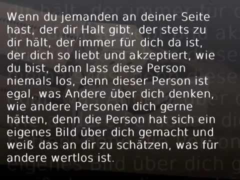 Sprüche die ans Herz gehen.. _-_. - YouTube