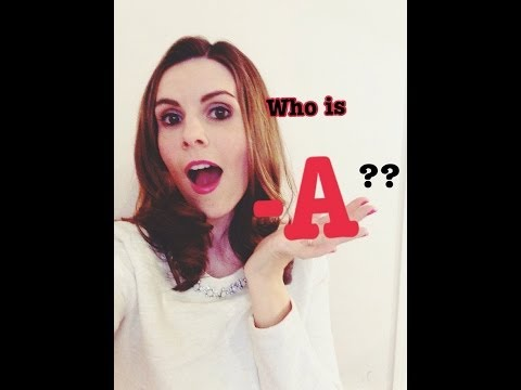 WHO IS -A? Pretty Little Liars Theories Ezra? Allison's Mom? Aria?