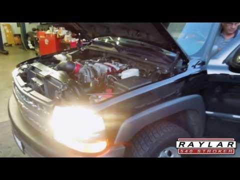 Raylar 540 Stroker Kit - Chevy Suburban 2500 - Vortec 8.1 Liter 496