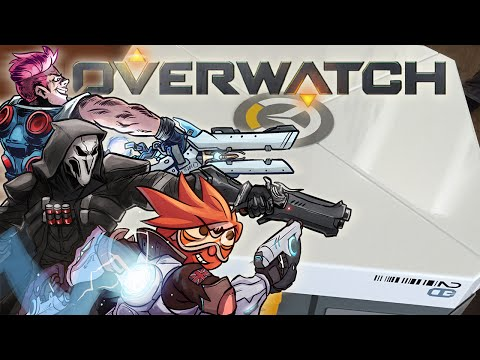 Overwatch - Real Life Loot Box Opening!