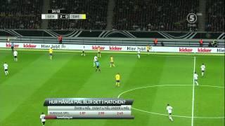 Fotboll VM-Kval 2014: Tyskland-Sverige