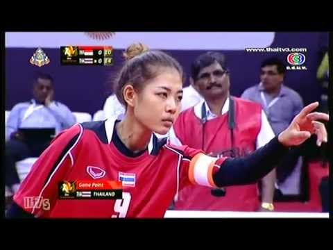 Istaf Super Series 2013 14 Women's Final [indonesia - Thailand] Set 1-2 video
