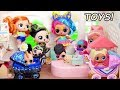 Hairgoals Series 5 LOL Surprise Dolls Open Fake Toys R Us Store With Real Hair mp3