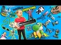AMIIBO CAN FLY!  Animal Crossing Take Over w/ Giveaway!  FAIL UNBOXING!  (FGTEEV SHOPPING Vlog)