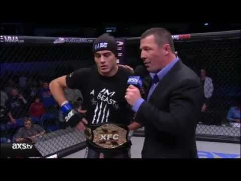 Notorious Nick Newell wins XFC Lightweight Title defeating Eric Reynolds at XFC21