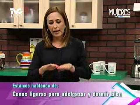 Cenas ligeras para adelgazar y dormir bien metvc youtube - Meriendas ligeras para adelgazar ...