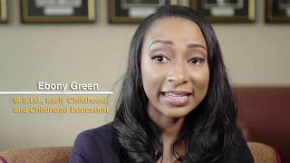 School of Education Graduate Profile: Ebony Green