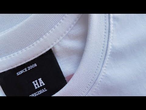 How To Sew T-SHIRT Part 2 Tutorial . Jak Uszyć Koszulkę Z Rozszyciami Na Okrak