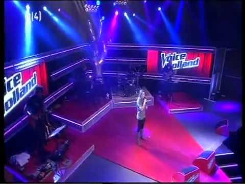 The Voice of Holland Audities - Laurie Huurdeman (15-10-2010)